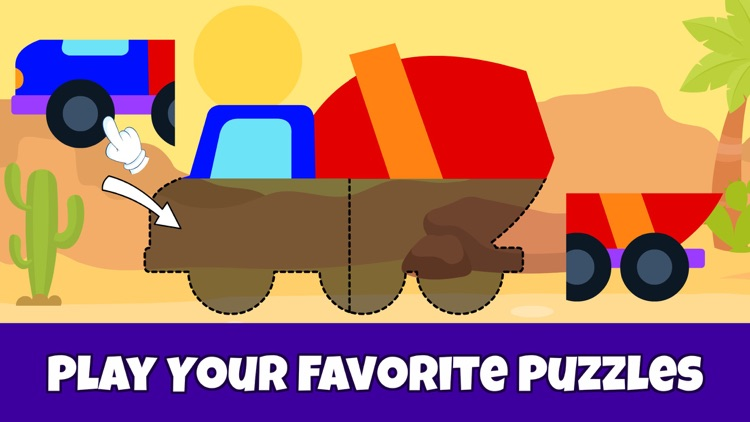 Toddler Puzzle Games for Kids~ screenshot-3