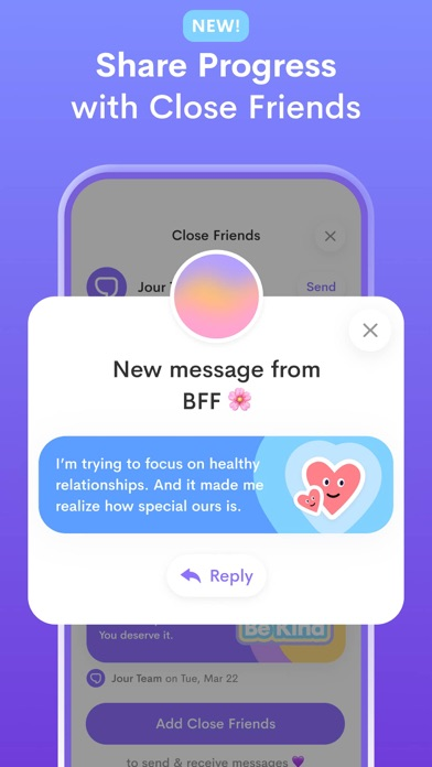 Jour: Daily Self-Care Journal Screenshot