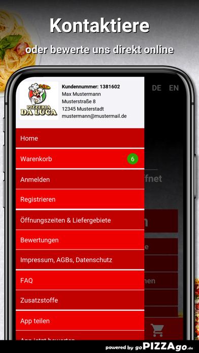 Pizzeria Da Luca Duisburg screenshot 3
