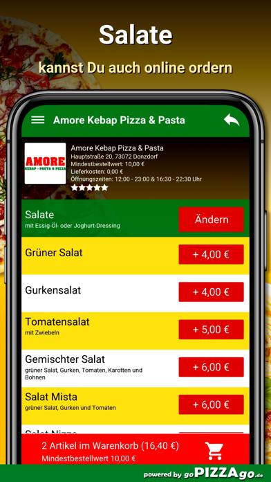 Amore Pizza Donzdorf screenshot 5