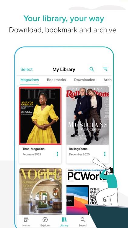 ZINIO unlimited - Magazines screenshot-5