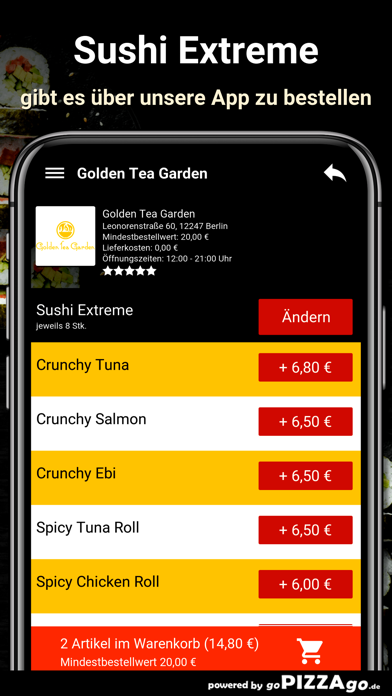 Golden Tea Garden Berlin screenshot 6