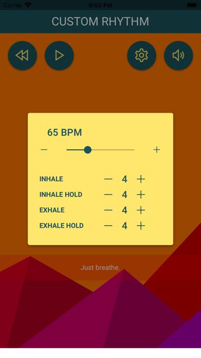 Breathlab breathing screenshot 4