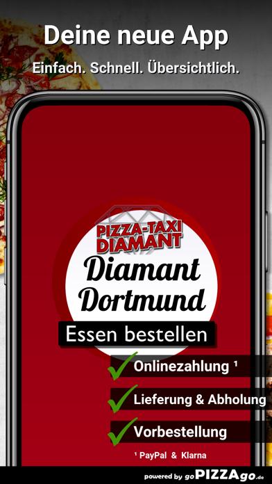 Pizza-Taxi Diamant Dortmund screenshot 1