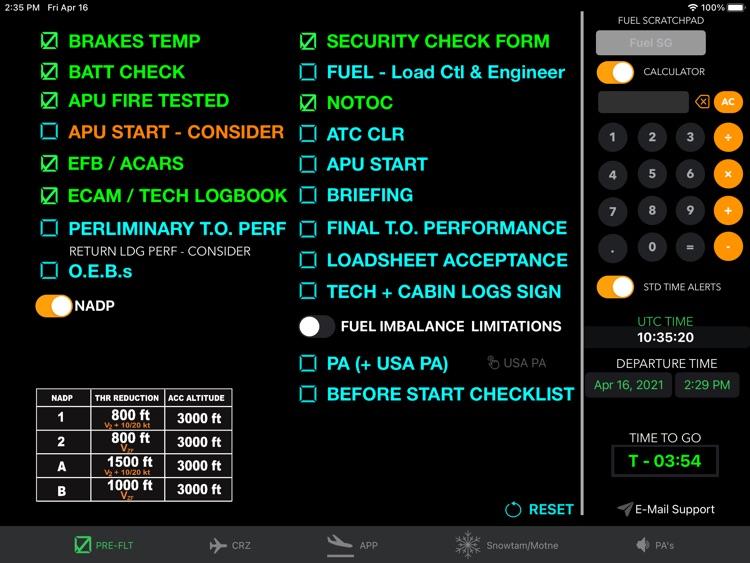 A320 Clipboard screenshot-0