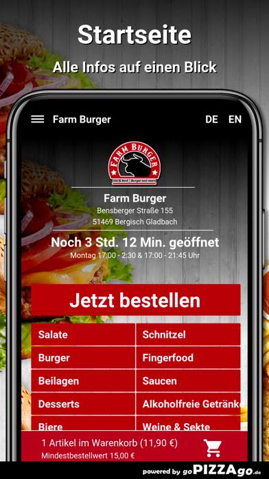 Farm Burger Bergisch Gladbach screenshot 2
