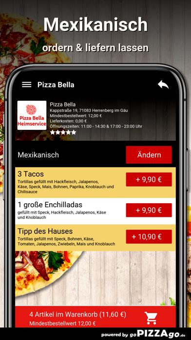 Pizza Bella Herrenberg im Gäu screenshot 6