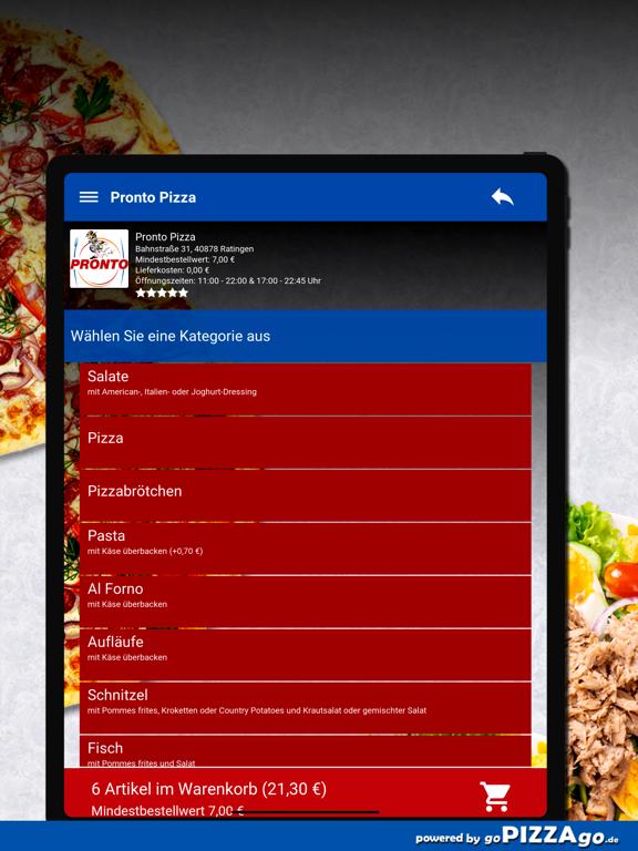 Pronto Pizza Ratingen screenshot 8