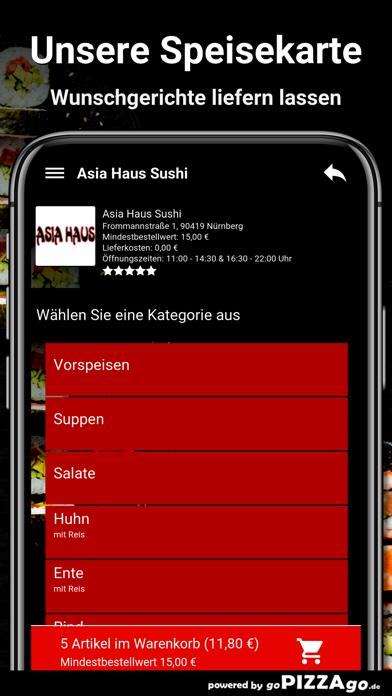 Asia-Haus Sushi Nürnberg screenshot 4
