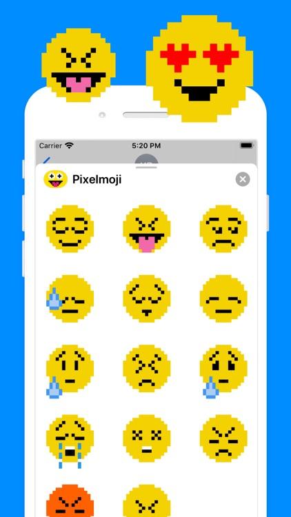 Pixelmoji: Animated Stickers screenshot-3