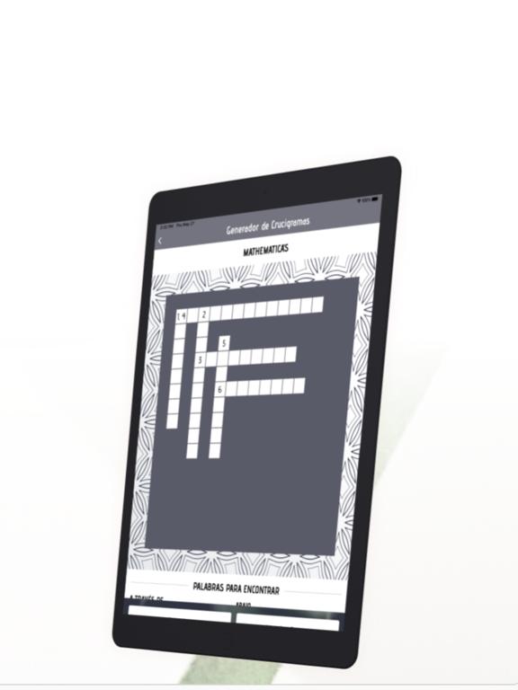 Generador Crucigrama screenshot 8