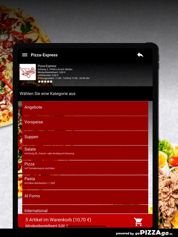 Pizza-Express Lörrach Stetten screenshot 8