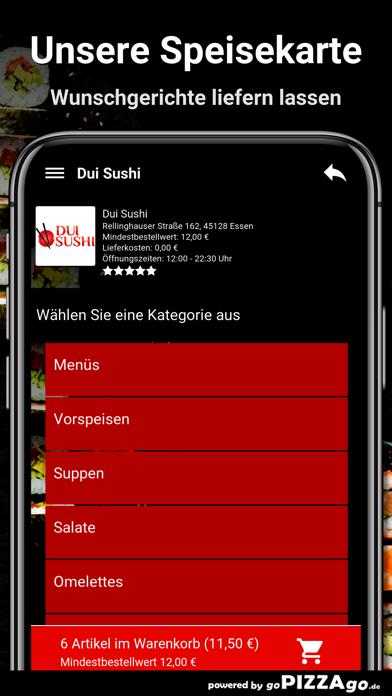 Dui Sushi Essen screenshot 4
