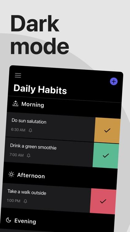 Each - Track Daily Habits screenshot-4