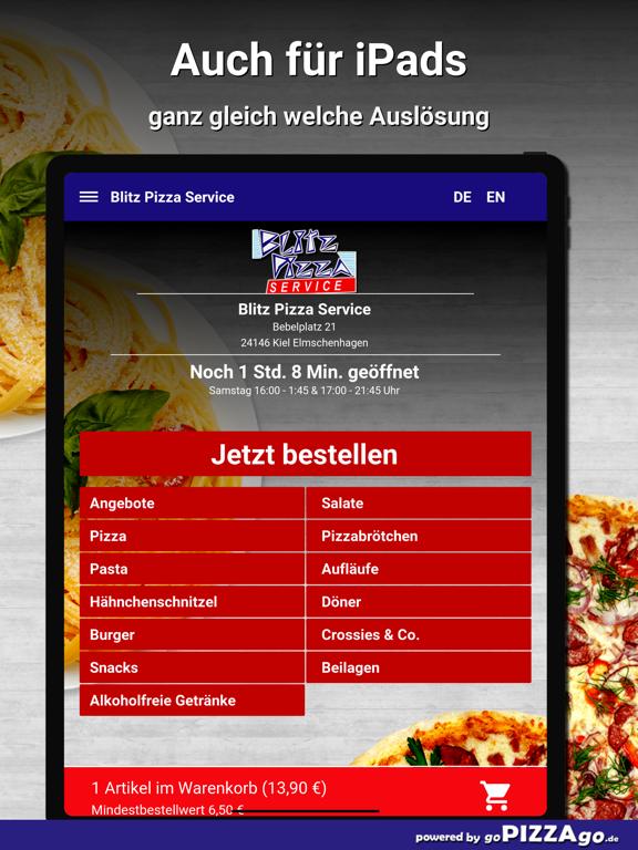 Blitz Pizza Kiel Elmschenhagen screenshot 7