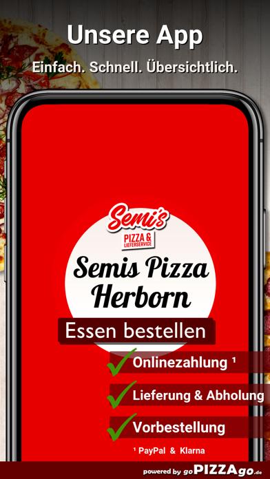 Semis Pizza Herborn screenshot 1