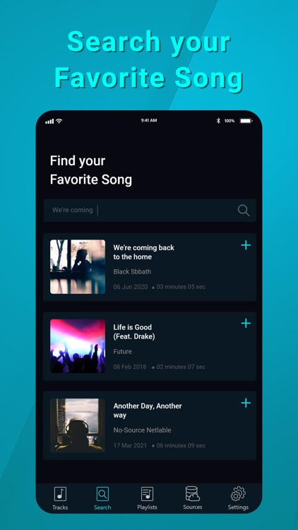 Music Player Cloud & Streaming