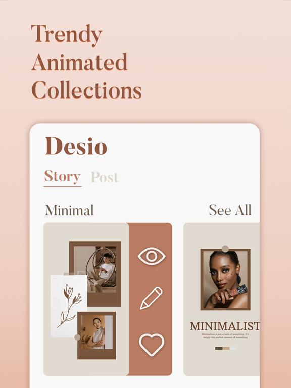 Desio: Post & Story for Insta screenshot 7