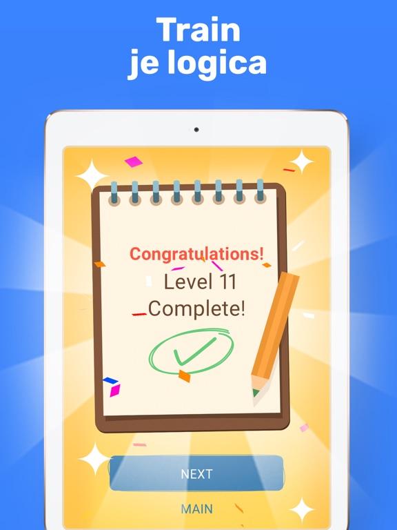 Cross Logic - Logische Puzzels iPad app afbeelding 5