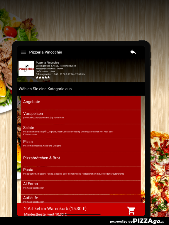 Pinocchio Recklinghausen screenshot 8