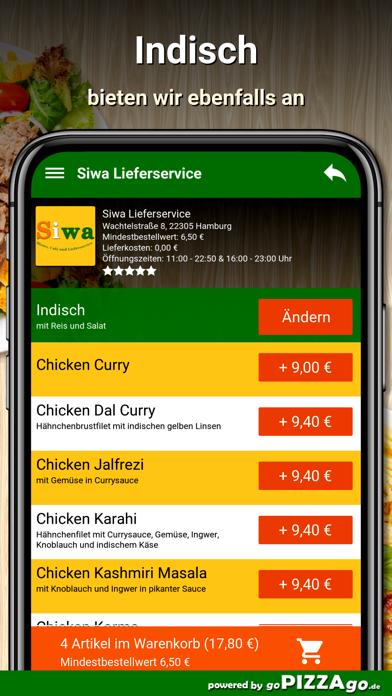 Siwa Lieferservice Hamburg screenshot 6
