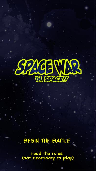 Space War in Space!! screenshot 1