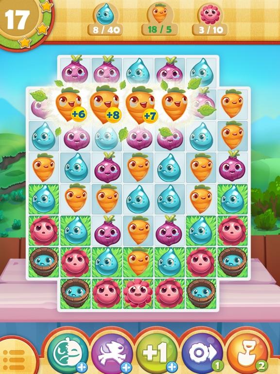 Farm Heroes Saga iPad app afbeelding 2