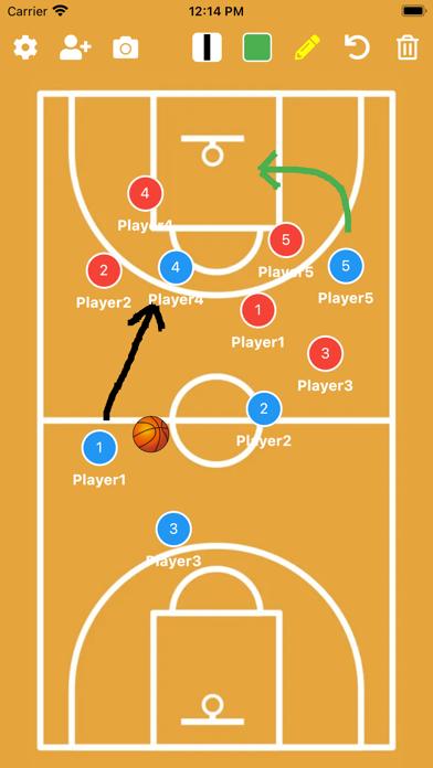バスケットボール作戦ボード紹介画像2