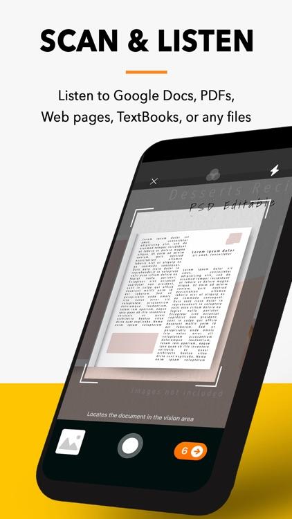 Text To Speech : Audio Books screenshot-4