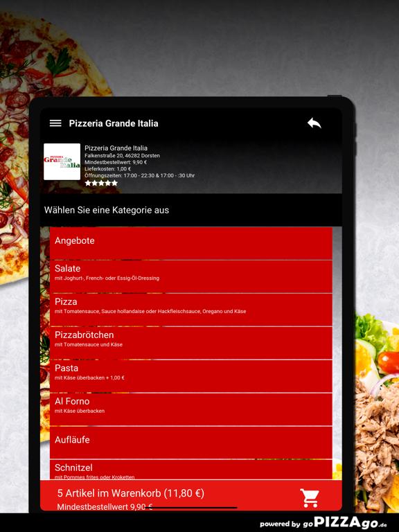 Pizzeria Grande Italia Dorsten screenshot 8