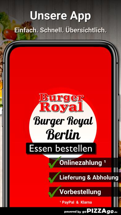 Burger Royal Berlin screenshot 1