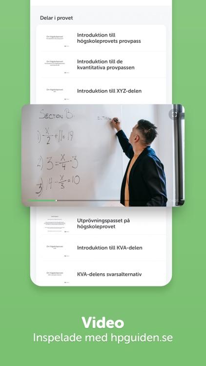 Högskoleprovet - Prova på screenshot-5