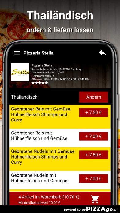 Pizzeria Stella Parsberg screenshot 6
