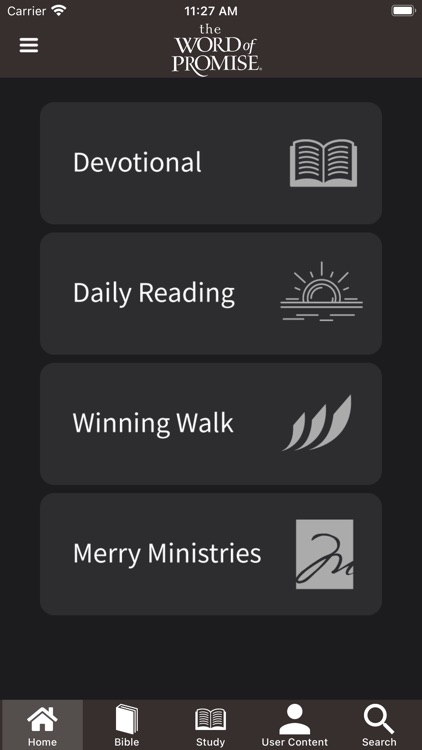 Bible - The Word of Promise® screenshot-0