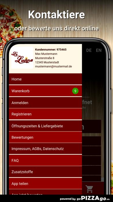 La Lucina Pizzeria Duisburg screenshot 1