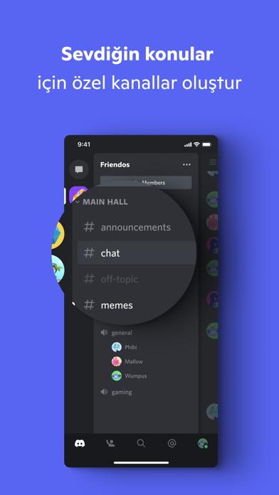 Discord - Sohbet Et ve Takıl iphone ekran görüntüleri