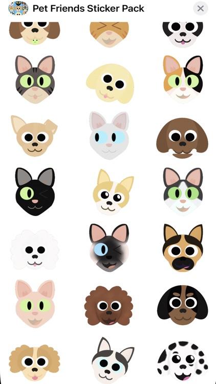 Pet Friends Sticker Pack screenshot-4