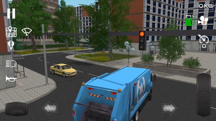 Trash Truck Simulator screenshot-4