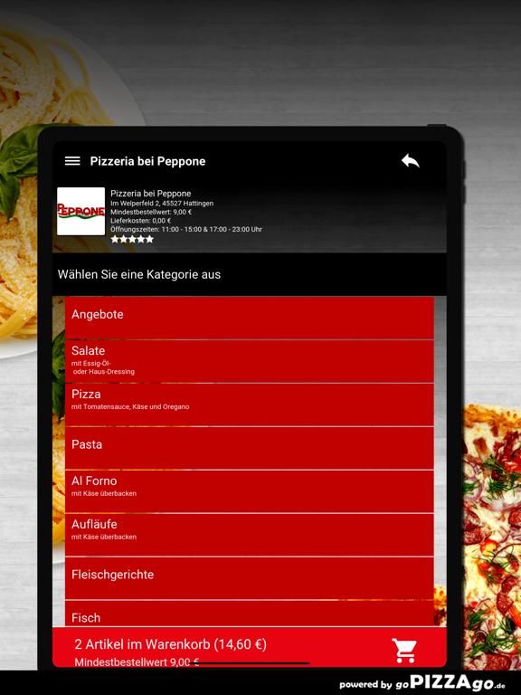 Pizzeria bei Peppone Hattingen screenshot 8
