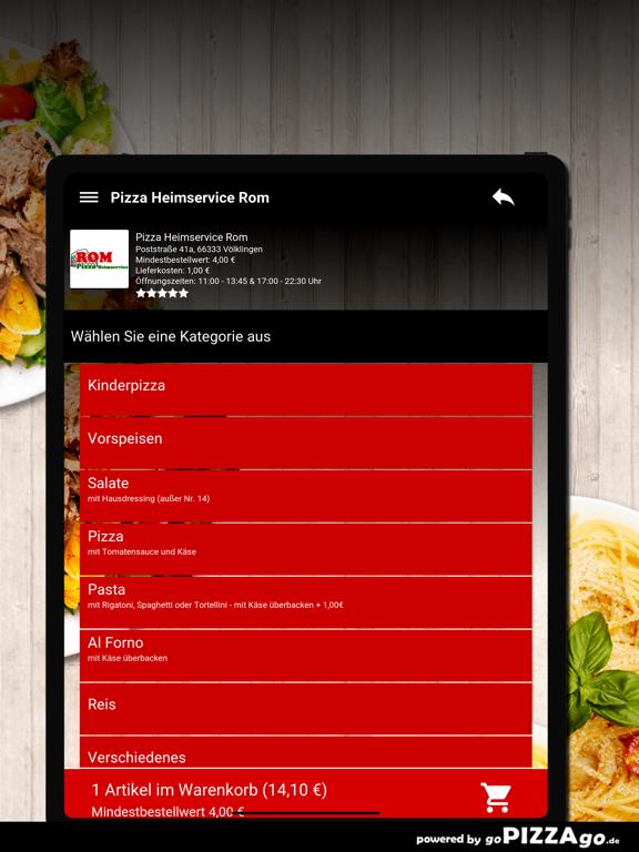 Pizza Rom Völklingen screenshot 8