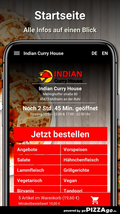 Indian Curry House Mülheim screenshot 2
