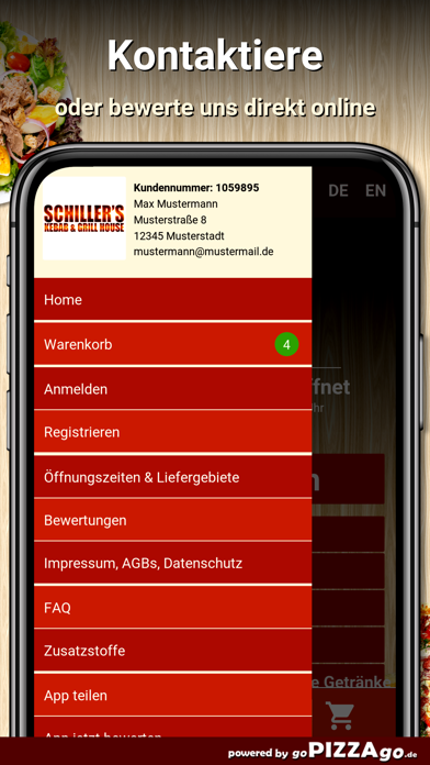 Schillers Grill House München screenshot 3