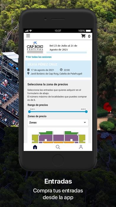 Cap Roig FestivalCaptura de pantalla de5