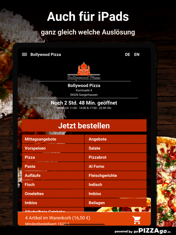 Bollywood Pizza Sangerhausen screenshot 7