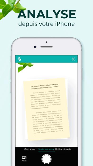 Screenshot #1 pour Scanner Document-WordScan