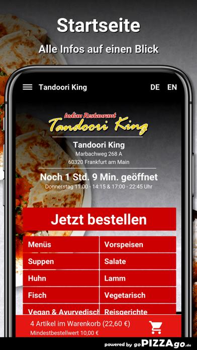 Tandoori-King Frankfurt screenshot 3