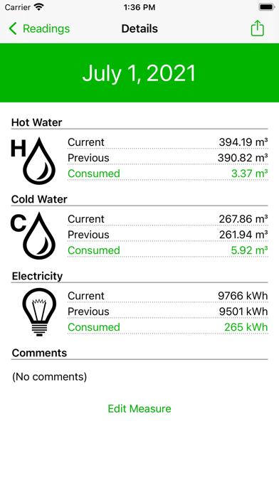 House Meters screenshot 3