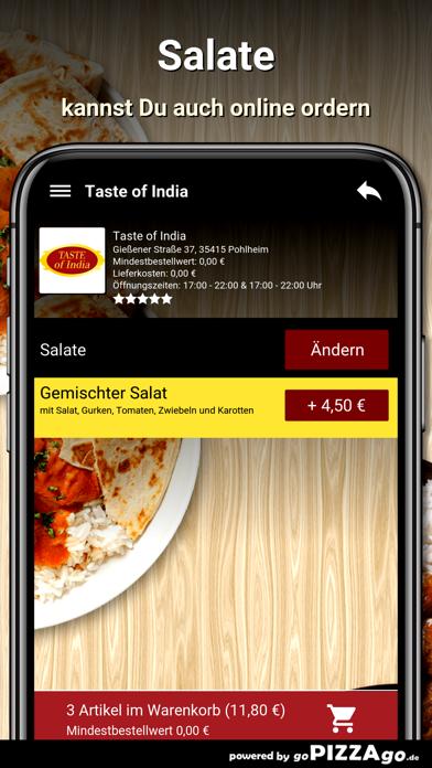 Taste of India Pohlheim screenshot 5