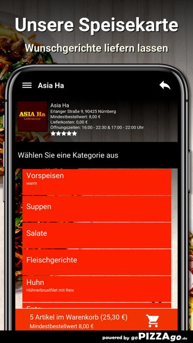 Asia Ha Nürnberg screenshot 4