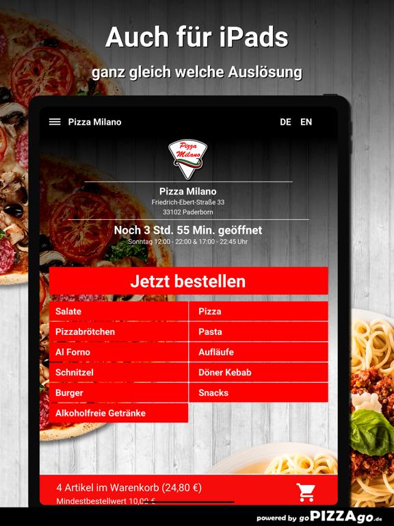 Pizza Milano Paderborn screenshot 7